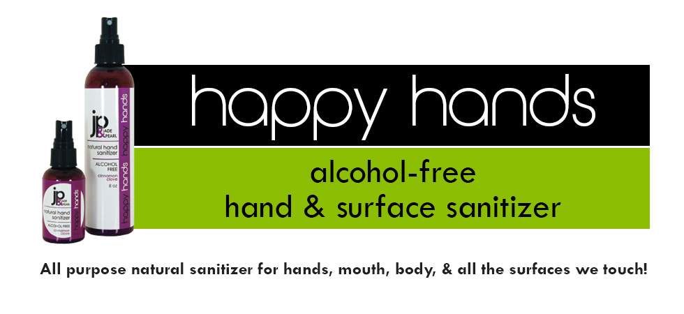 Happy Hands Alcohol-Free Hand &amp; Surface Sanitizer